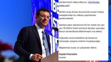 """Ekrem İmamoğlu """"Şantaj"""" Skandalı"""