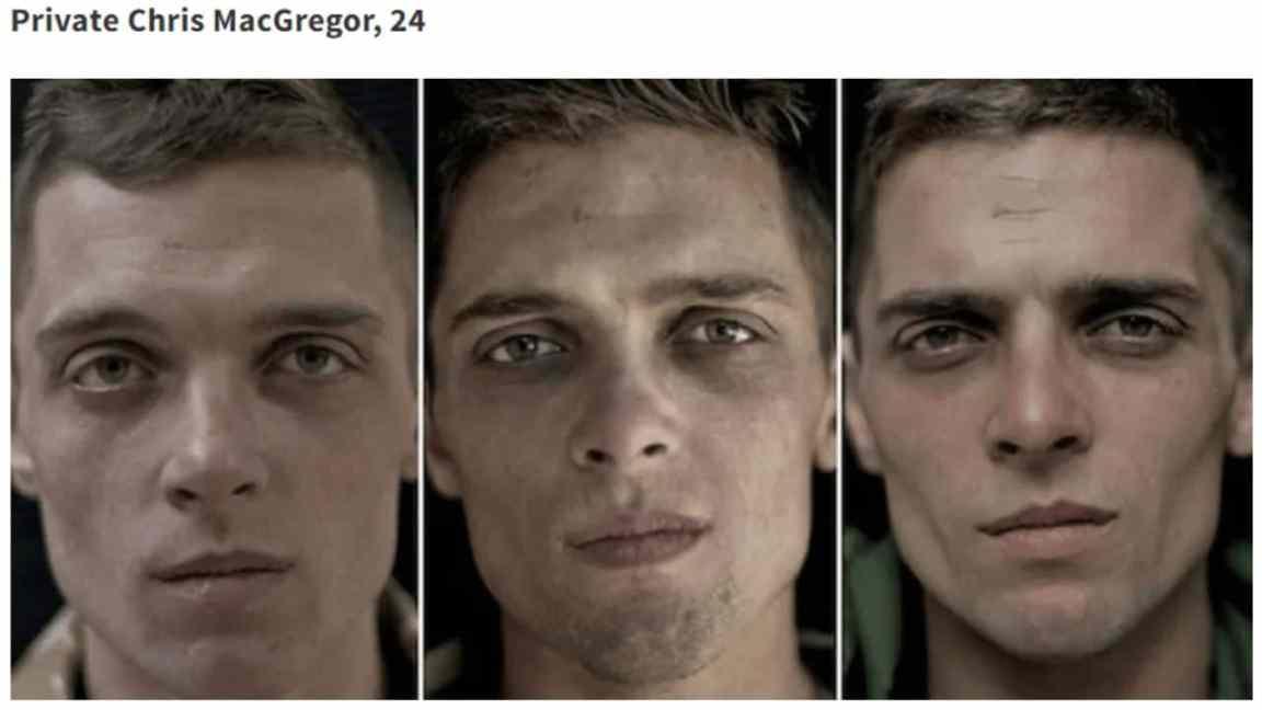 Savaş Sırasında, Öncesinde ve Sonrasında Fotoğraflanan 15 Asker