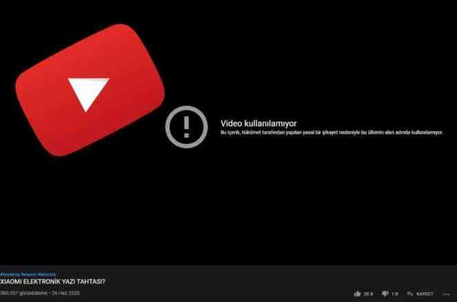 Youtube Yasakları Başladı: Ünlü Youtuber'ın Videosuna Hükümet Engeli