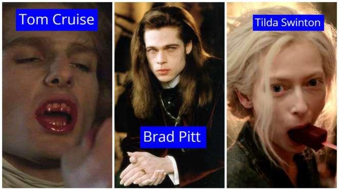 vampir filmleri brad pitt, tom cruise