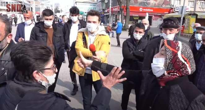 Sokak Röportajı Sırasında Çıldıran Ablalar ve Erdemini Yitiren Bir Toplum