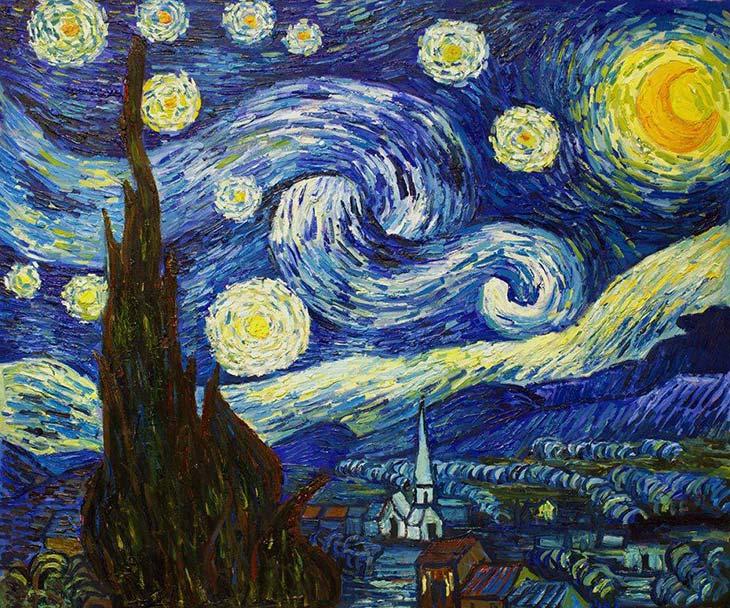 Yıldızlı Gece (Vincent Van Gogh)