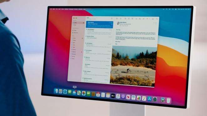 Mac OS görünümü.