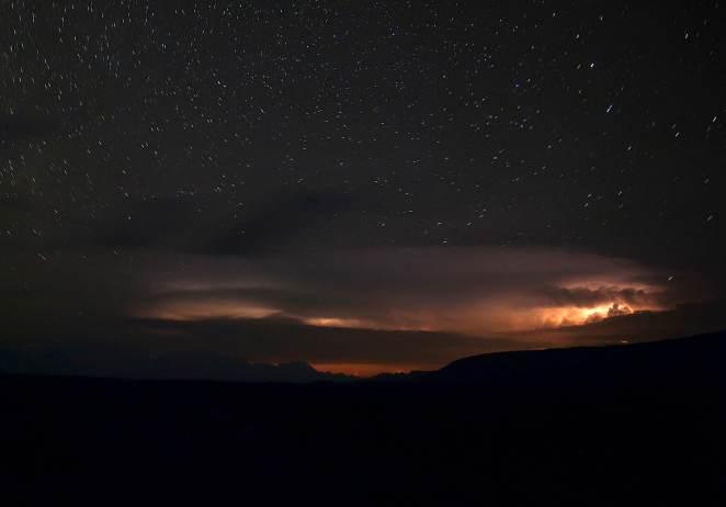 yıldızlı gece fotoğraf çekimi