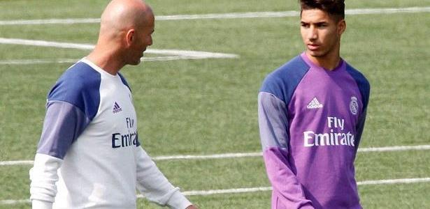 زيدان مستاء من إدارة ريال مدريد بسبب حكيمي