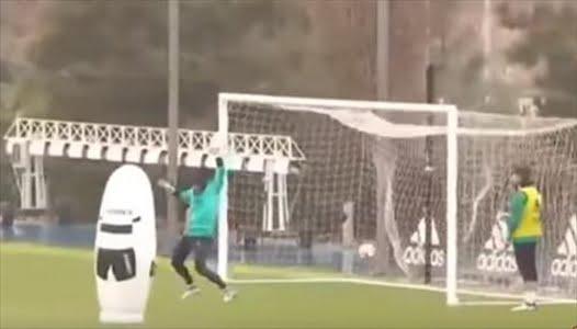 هدف صاروخي من رونالدو في تدريب ريال مدريد
