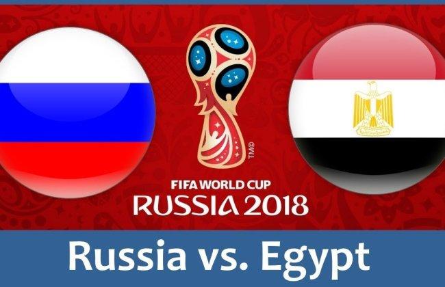 موعد مباراة مصر وروسيا في الجولة الثانية من مباريات المجموعة