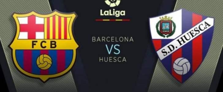 القنوات المجانية الناقلة لمباراة برشلونة وهويسكا اليوم الأحد في الدوري الأسباني