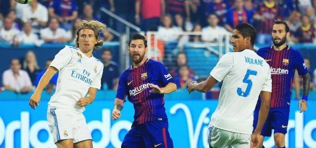 موعد مباراة ريال مدريد وبرشلونة