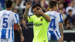 موعد مباراة برشلونة وليجانيس اليوم في الدوري الإسباني