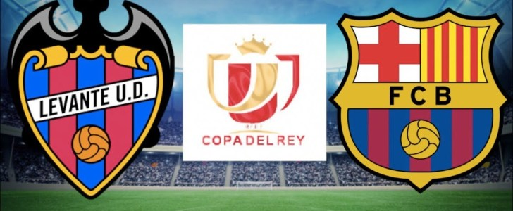 القنوات المجانية الناقلة لمباراة برشلونة وليفانتي 10-01-2019 كاس ملك اسبانيا