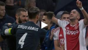 اهداف مباراة ريال مدريد واياكس (2-1) تعليق رؤوف خليف