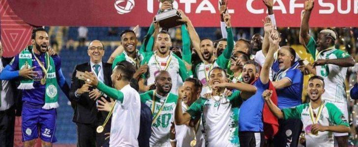 الملك محمد السادس يهنئ الرجاء العالمي بفوزه بكأس السوبر الإفريقي