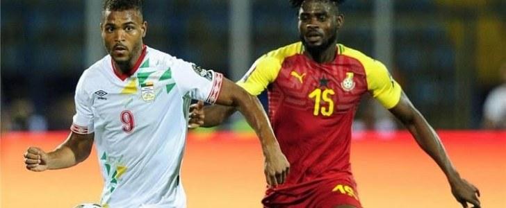 بنين تفرض التعادل الايجابي على غانا بكأس أمم إفريقيا