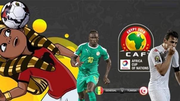 تونس والسنغال بث مباشر اليوم 14-07-2019 كاس امم افريقيا