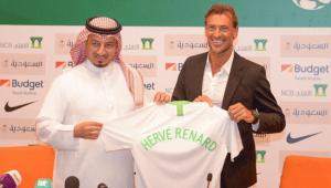 هيرفي رونار : هدفي الأول كتابة التاريخ مع المنتخب السعودي