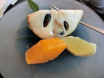 味の想像つかないフルーツ