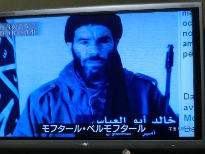施設を襲撃したイスラム武装勢力の指導者