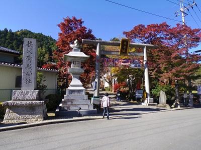 これが神社の山門だった