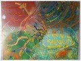 Gemälde Bismilfa von kooZal - Acrylbilder und Collagen Mischtechniken