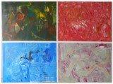 Gemälde Mirrors von kooZal - Acrylbilder und Collagen Mischtechniken