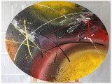Gemälde Traffic von kooZal - Acrylbilder und Collagen Mischtechniken