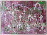 Gemälde Artattack von kooZal - Acrylbilder und Collagen Mischtechniken