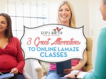 3 great alternatives to online lamaze classes