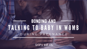 Bonding & Talking to Baby in Womb Image