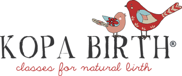 Kopa Birth Logo - Online Childbirth Classes for Natural Hospital Birth