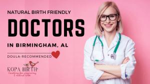 Natural Birth Friendly Doctors Birmingham AL - Image