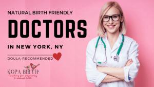Natural Birth Friendly Doctors New York NY - Image
