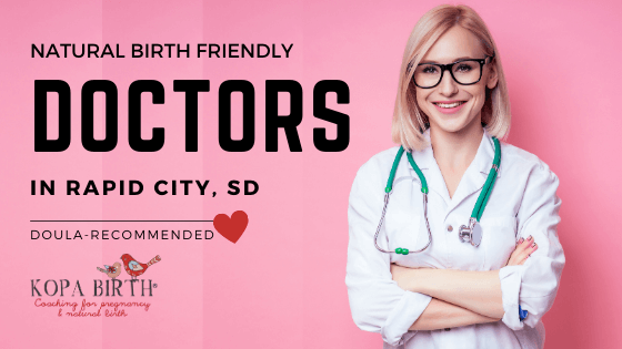 Natural Birth Friendly Doctors Rapid City SD- Image