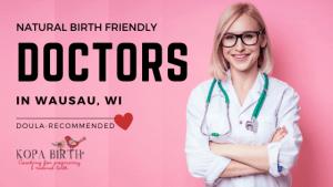 Natural Birth Friendly Doctors Wausau WI- Image