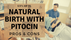 Natural birth with pitocin pros and cons - image