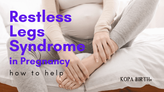 Restless legs syndrome in pregnancy-how to help-image