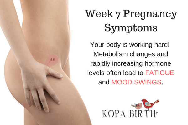 Week 7 Pregnancy Symptoms Mood Swings and Fatigue
