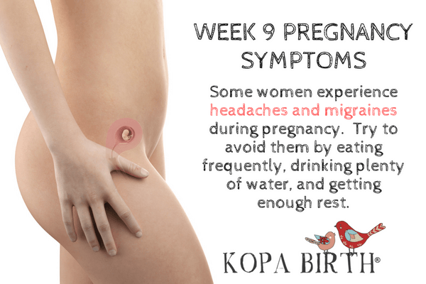 Week 9 Pregnancy Symptoms