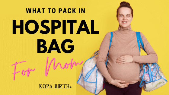 What to Pack in Hospital Bag For Mom- Image