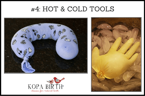 natural birth accessories hot and cold tools
