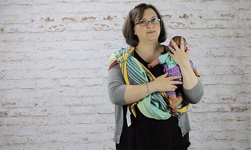 Woman Holding a Baby | Kopa Birth