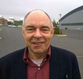 Bjarni Þór Jónsson, fulltrúi sýningarstjórnar á sjávarútvegssýningunni 2014.