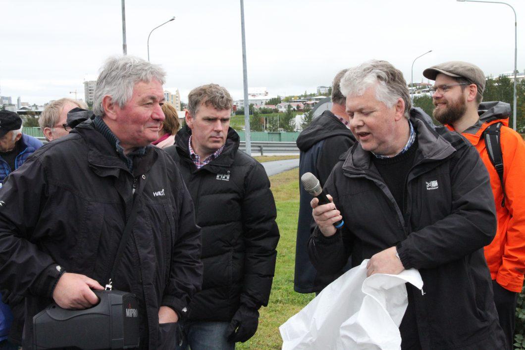 Gunnar Svavarsson, Sverrir Óskarsson, Friðrik Baldursson og Gunnar Marel Hinriksson.