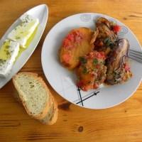 Βαζάνια (μελιτζάνες) Γιαχνί (Κυπριακή συνταγή)