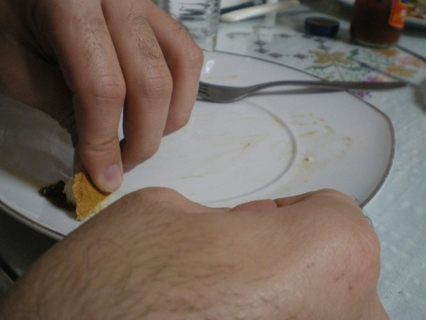 Βαζάνια, μελιτζάνες άδειο πιάτο φωτογραφία