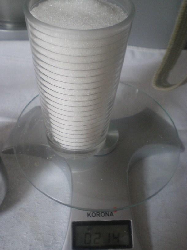 Ένα ποτήρι με ζάχαρη εικόνα
