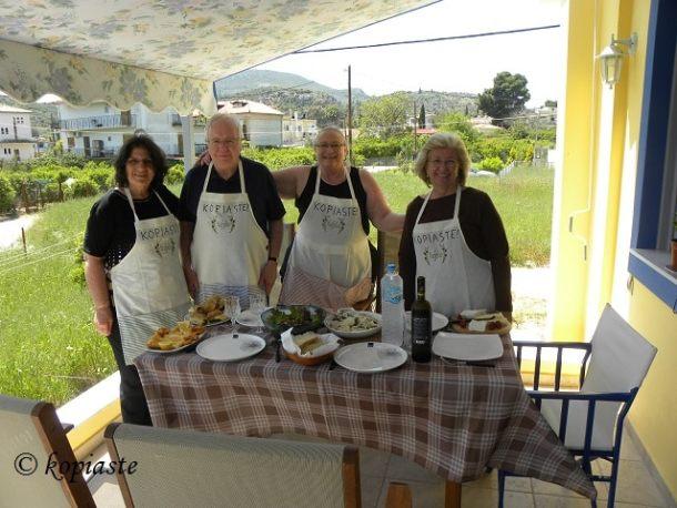 Cooking class 28 April 2015