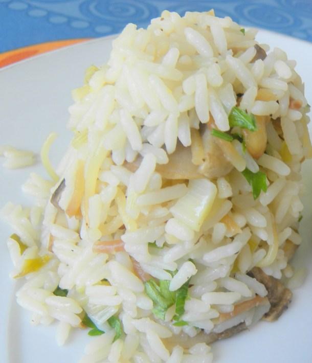 ρύζι με μανιτάρια εικόνα