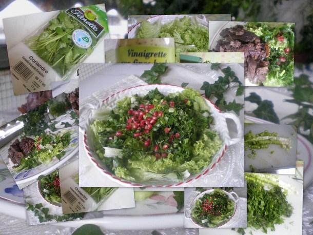 Γαλλική σαλάτα με συκωτάκια εικόνα