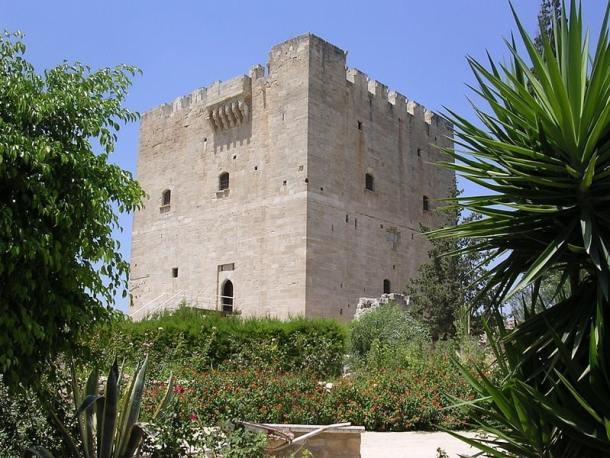 Κάστρο Κολοσσίου, Επαρχία Λεμεσός